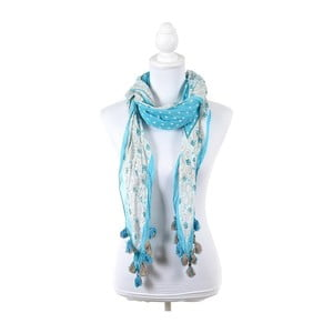 Chusta/pareo BLE Inart 65x200 cm, jasnoniebieska