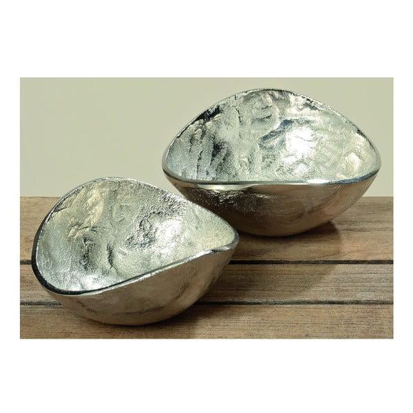 Zestaw 2 misek Deco Silver