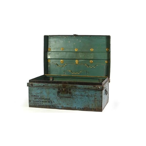 Skrzynia Orient 45x74 cm, niebieska