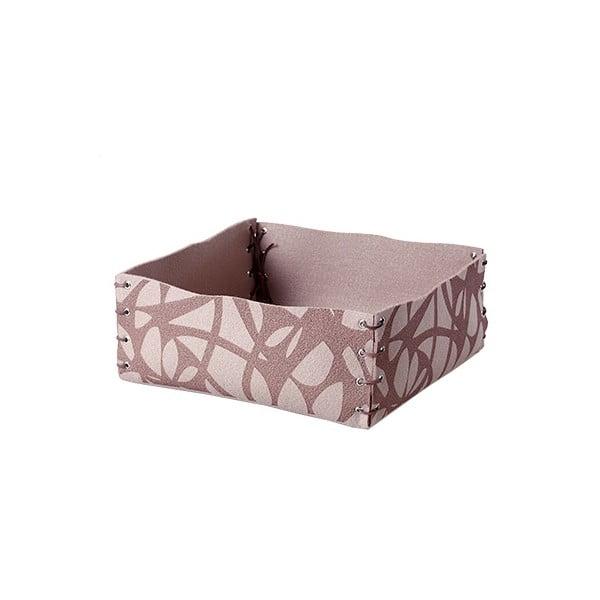 Filcowe pudełko, 12x6 cm, beżowe
