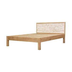 Łóżko z litego drewna mango Massive Home Sweet, 160x200cm