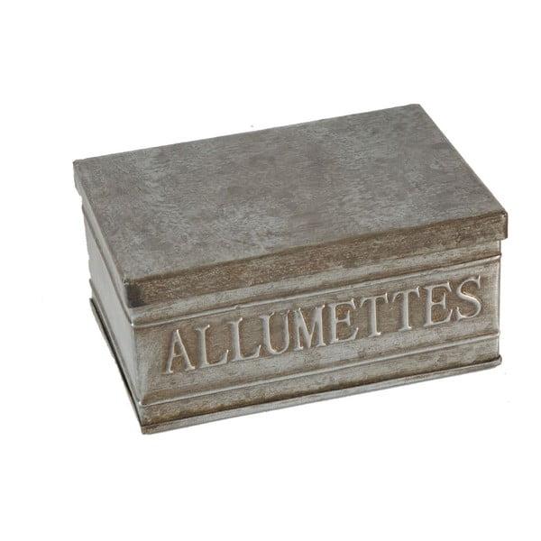 Pojemnik metalowy Antic Line Allumettes