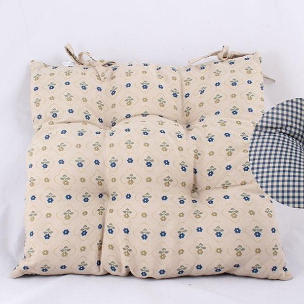 Poduszka na krzesło Dots Blue