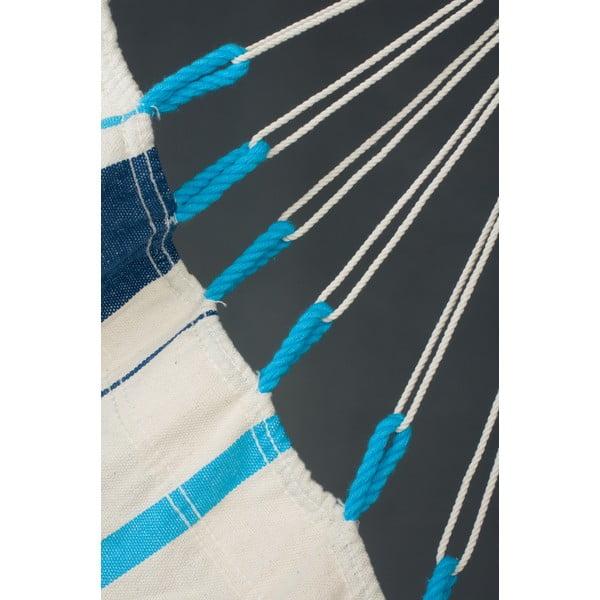 Krzesło-Hamak  Caribena, niebieski