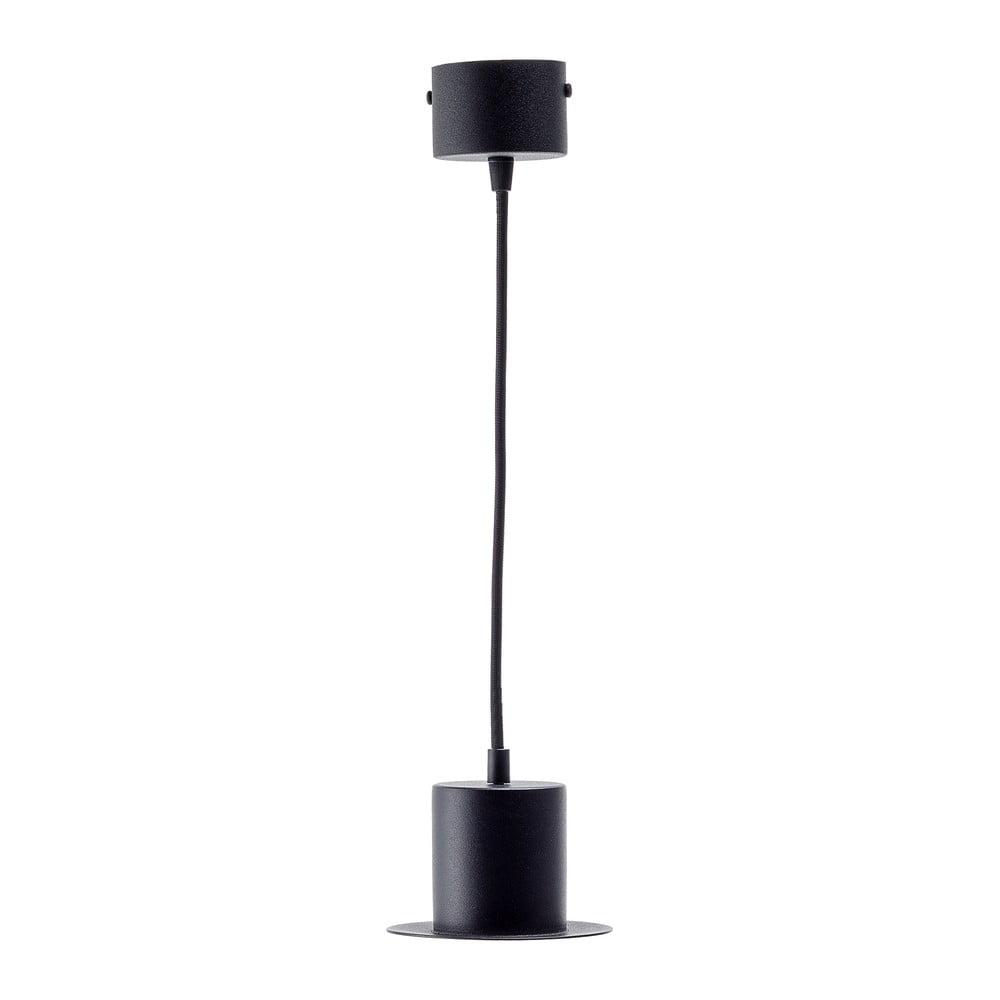 Czarna lampa wisząca EMKO Hat Cylinder