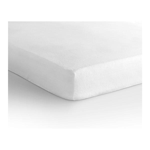 Białe prześcieradło elastyczne Homecare, 140x200 cm