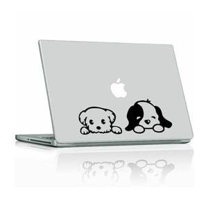 Naklejka Cute Little Puppies