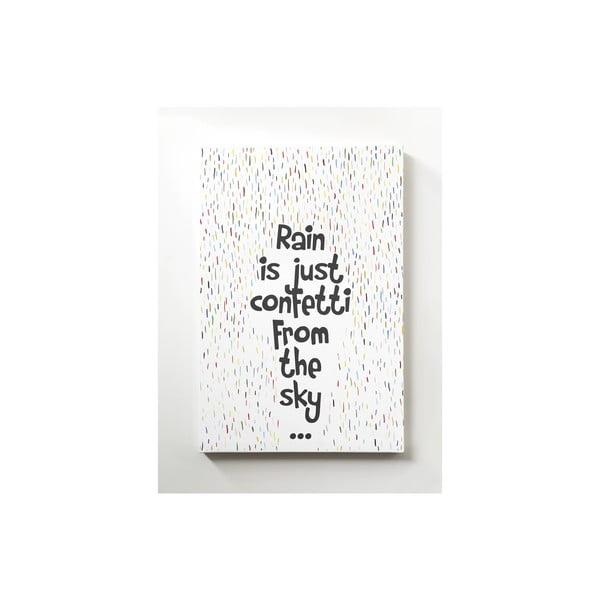 Obraz na płótnie Confetti, 40x60 cm