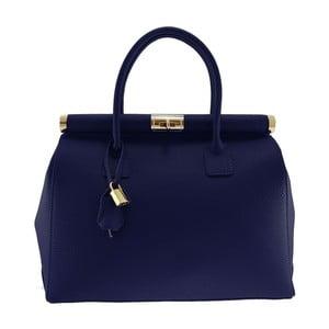 Niebieska torba skórzana Alamir