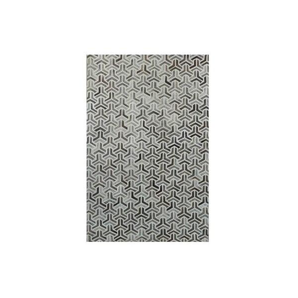 Dywan skórzany Bolzano Grey, 120x180 cm