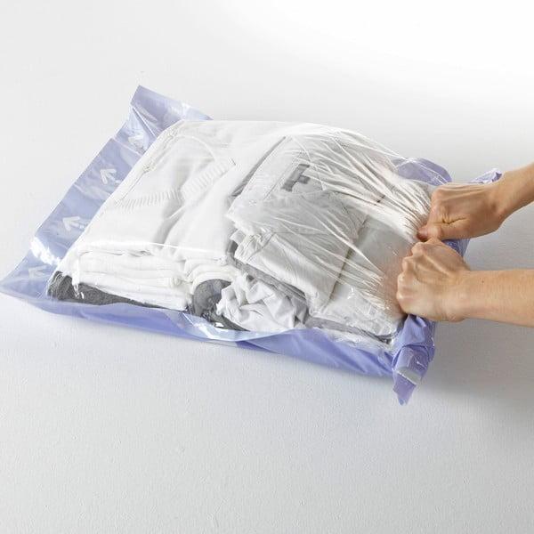 Próżniowe pokrowce na ubrania Compactor Blue, rozm. M, 2 szt.