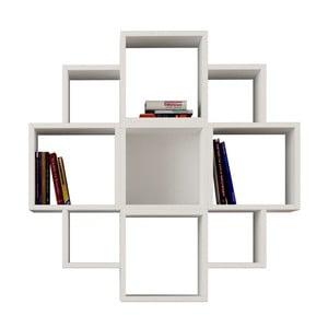 Półka wisząca Fiore, biała