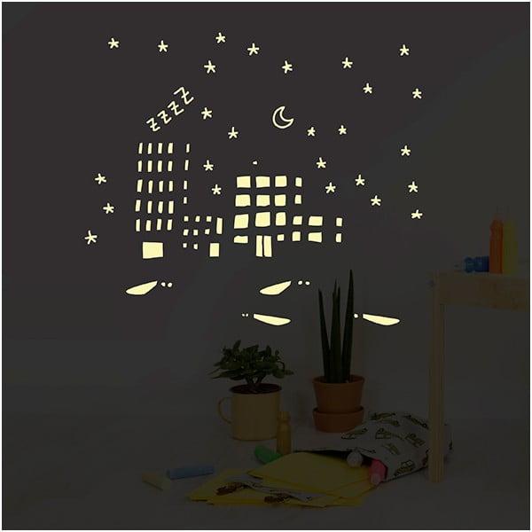 Naklejka świecąca Chispum City Lights
