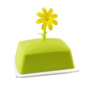 Zielona maselniczka Vialli Design Livio