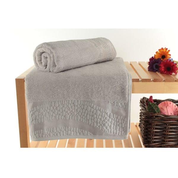 Zestaw 2 ręczników Balon Grey, 90x150 cm