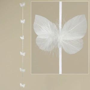 Piórkowa girlanda Feathers, 120 cm