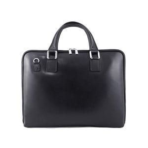 Skórzana torebka unisex Manola Nero