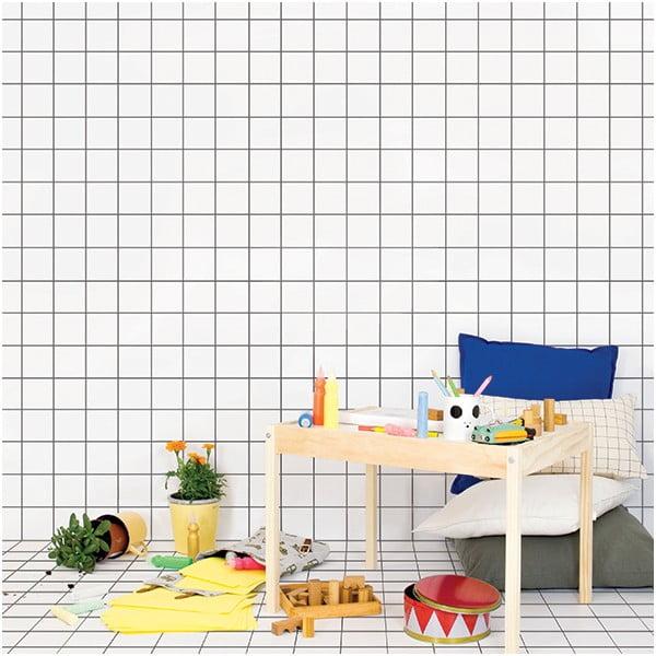 Naklejka dekoracyjna na ścianę Grid Wallpaper