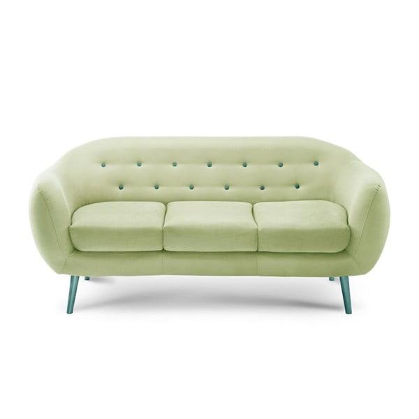 Sofa trzyosobowa Constellation Pistachio Green/Turquoise/Turquoise