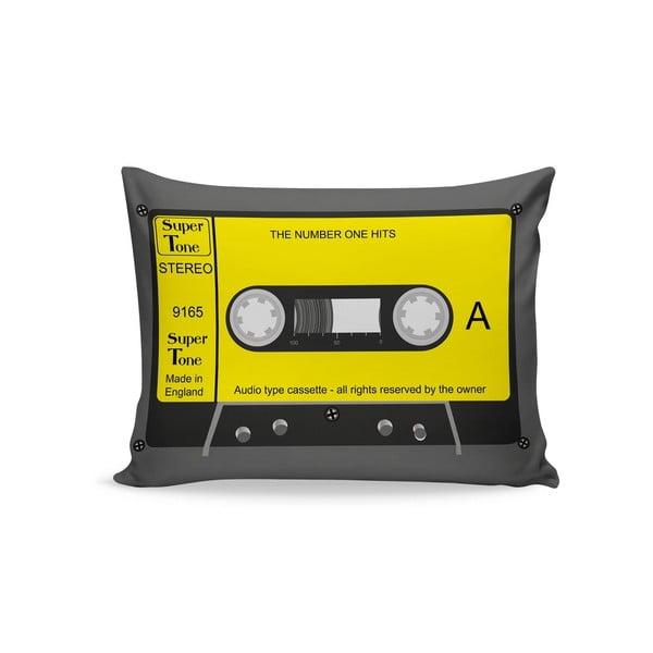 Żółta poduszka Casette