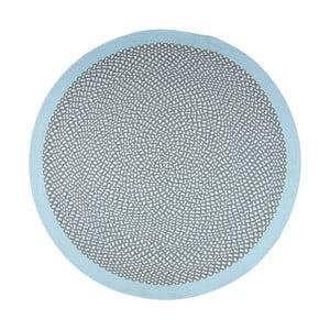 Niebieski dywan dziecięcy Nattiot Brenda, Ø 120 cm
