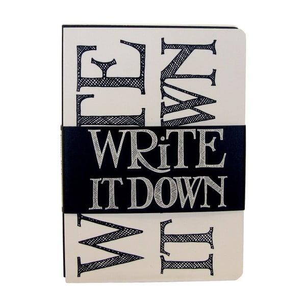 Zestaw 3 notesów Journal