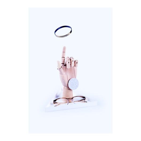 Stojak na drobiazgi DOIY The Hand White
