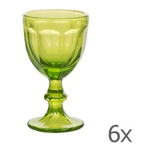 Zestaw 6 kieliszków Calici Vino Green