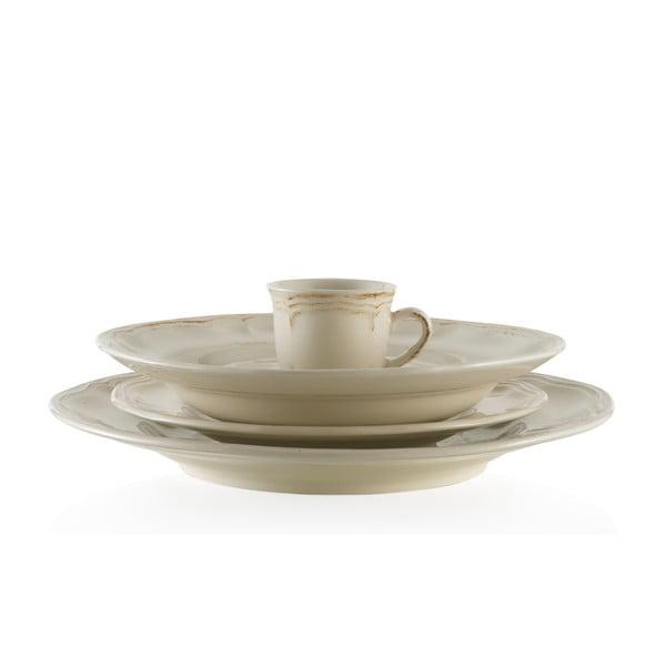 Zestaw ceramicznych naczyń Melange Cream