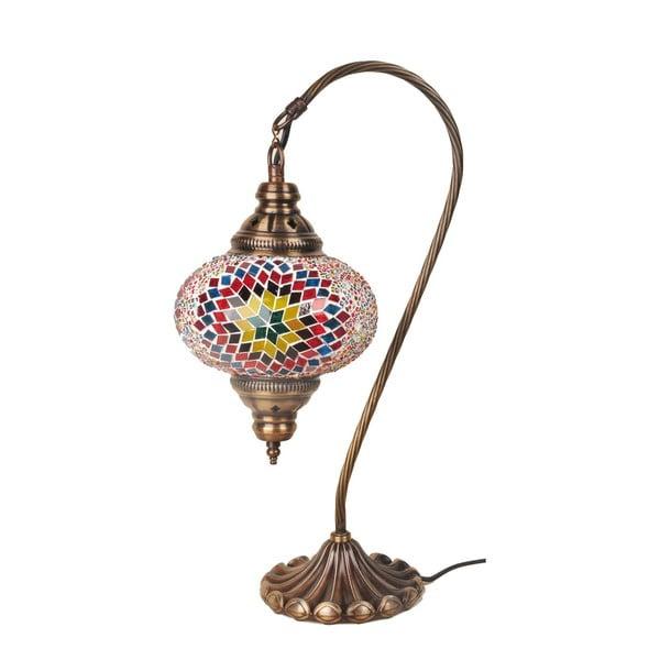 Lampka szklana Fishing IV, 17 cm