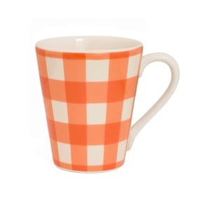 Kubek Tall Nigelli Lawson Gingham Orange