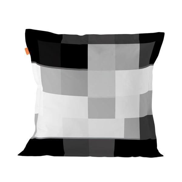 Bawełniana poszewka na poduszkę Blanc Net B&W, 65x65cm