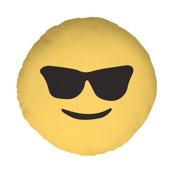 Poduszka Emoji Glasses, 39 cm