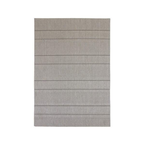 Dywan ogrodowy Patio Beige Stripe, 160x230 cm