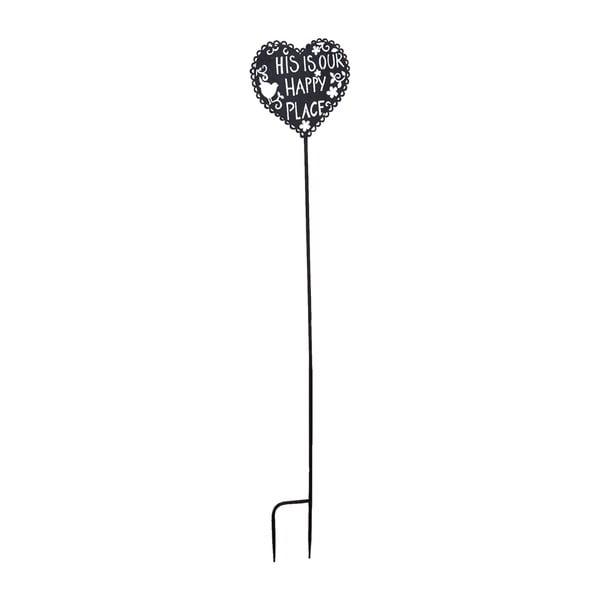 Dekoracja ogrodowa Clayre & Eef Heart, 119 cm