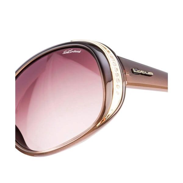 Damskie okulary przeciwsłoneczne Lotus L758807 Black/Brown