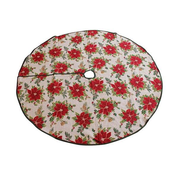 Podkładka pod choinkę Dakls, róże
