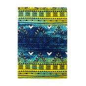 Dywan Aztec, zielony/niebieski, 120x 170 cm