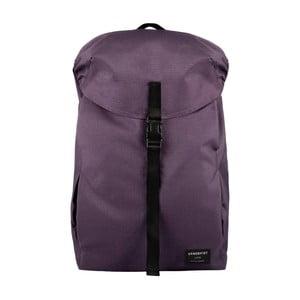 Ciemnofioletowy plecak z materiału ripstop Sandqvist Ivan