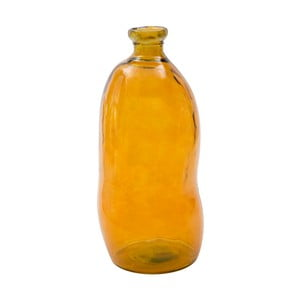 Poamrańczowy wazon ze szkła z recyklingu Mauro Ferretti Bot, wys.73cm