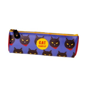 Piórnik Cat, fioletowy