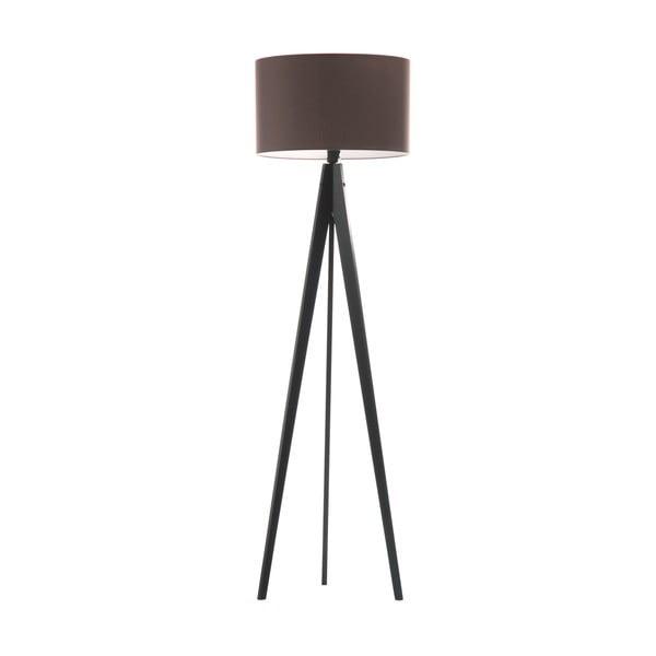 Lampa stojąca Artist Dark Taupe/Black, 125x42 cm
