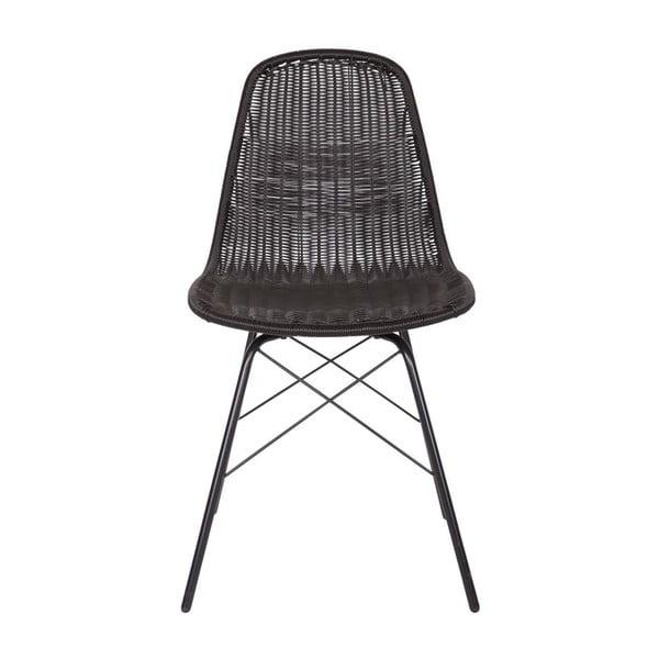 Zestaw 2 krzeseł Spun Black