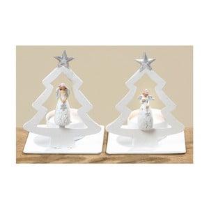 Zestaw 2 świeczników Angel Winter