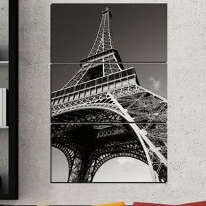 3-częściowy obraz Eiffel