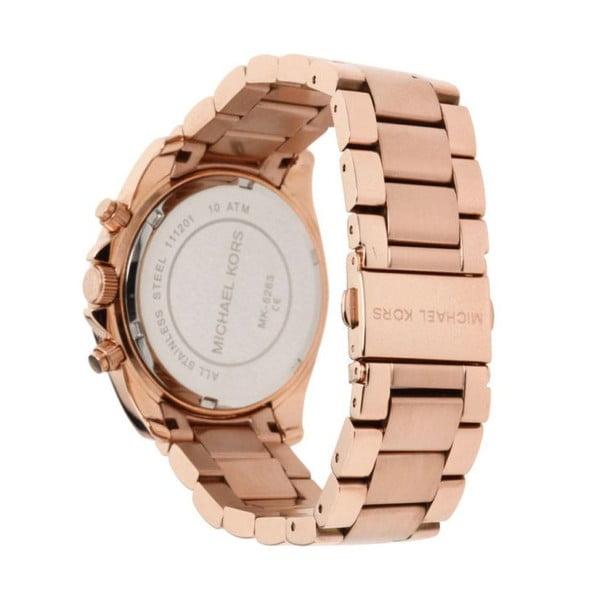 Zegarek damski w kolorze różowego złota Michael Kors Blair