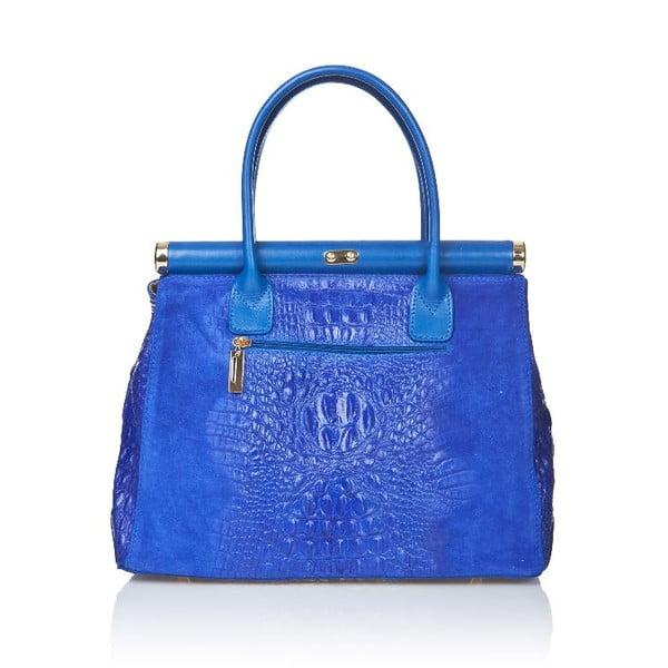Niebieska torebka skórzana Markese Mara