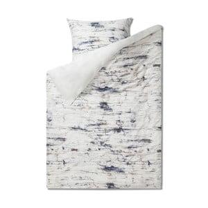 Pościel jednoosobowa z czystej bawełny Casa Di Bassi Marble, 155x220 cm