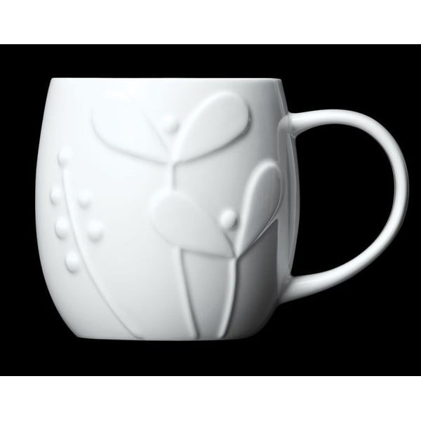 Kubek z angielskiej porcelany Plum Seedling