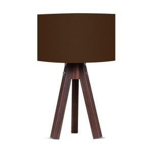 Lampa stołowa z brązowym abażurem Kate Louise Kahve